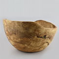 Rustic Olive Wood -  Large Bowl